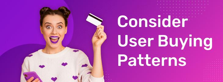 user buying patterns