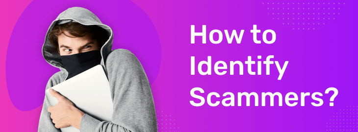 how to identify scammers