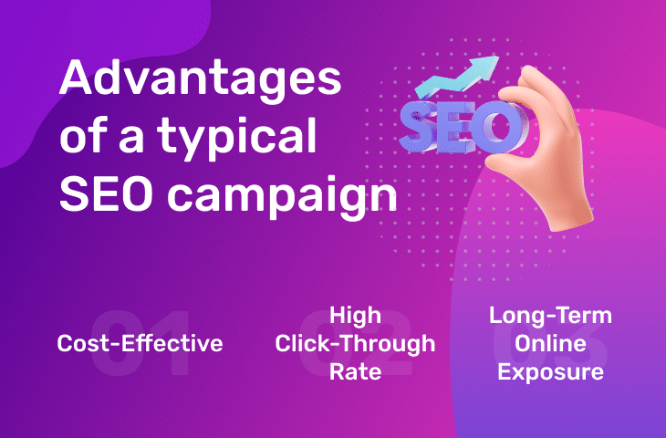 Advantages of a typical SEO campaign